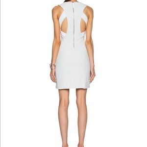 Helmet Lang dress with back cut outs